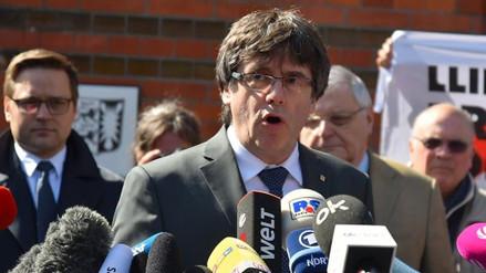 Puigdemont abandonó la prisión alemana tras pagar la fianza
