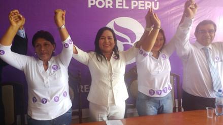 Todos por el Perú presentó a sus precandidatos al Gobierno Regional y las tres provincias