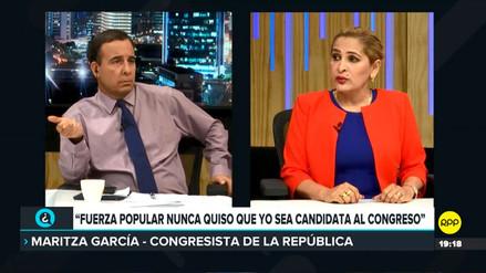 Maritza García aseguró que Mamani y FP retuvieron videos de presunta compra de votos