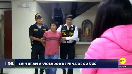 La Policía capturó a un hombre acusado de violar a sus hijastras en el Rímac