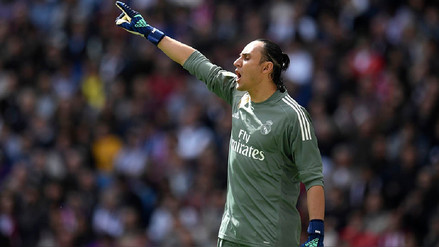 Keylor Navas habló sobre su futuro en el Real Madrid