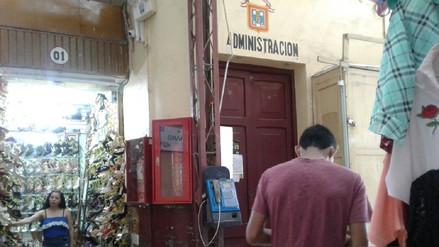 Extraño robo en administración de mercado Central de Chiclayo