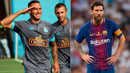 Emanuel Herrera tiene mejor promedio de gol en 2018 que Lionel Messi