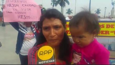 Damnificados por Niño costero piden donar terreno en Trujillo