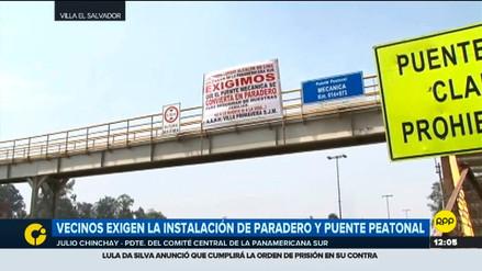 Rutas de Lima anunció desmonte de puente peatonal afectado en SJM