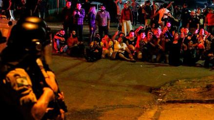 Al menos nueve heridos en enfrentamiento durante ingreso de Lula a prisión en Curitiba