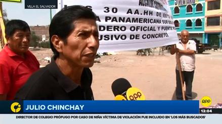 Vecinos de SJM bloquearon Panamericana Sur pidiendo un nuevo puente peatonal y paradero