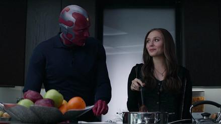 """""""Avengers Infinity War"""": La trágica historia de amor de Visión y la Bruja Escarlata"""