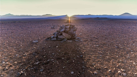 Científicos descubrieron calendarios incas en el desierto de Atacama en Chile