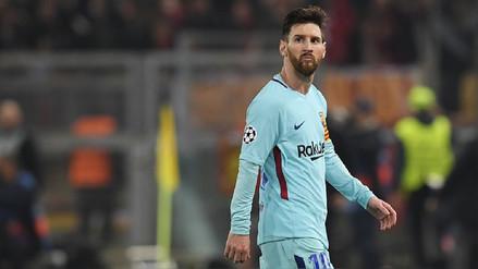 Lionel Messi y una estadística negativa cuando el Barcelona es eliminado