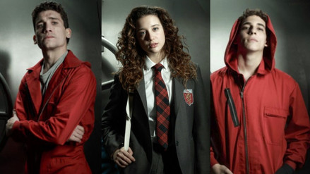 """""""Élite"""": La serie de Netflix con los actores de """"La Casa de Papel"""""""