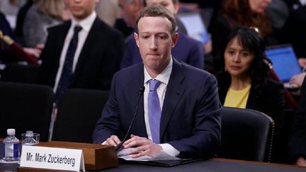 Zuckerberg ante el Senado de EE.UU: