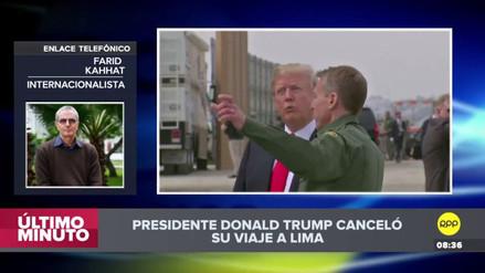 """Farid Kahhat: """"Latinoamérica no es una región prioritaria en la agenda de Trump"""""""