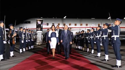 Cumbre de las Américas: Presidente dominicano fue el primer mandatario en llegar a Lima