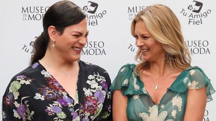 Kate Moss y Daniela Vega comparten una exposición de moda en Chile