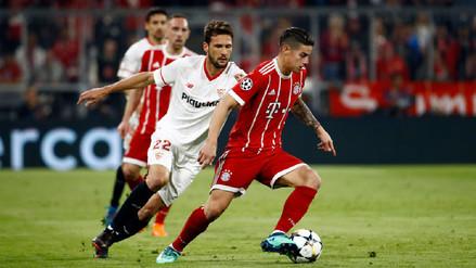 Bayern Munich no pasó apuros para eliminar al Sevilla y se metió en 'semis'