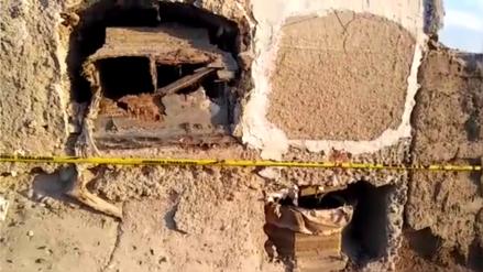 Profanan tumbas y roban cráneos en cementerio de Monsefú