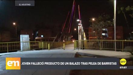 Un joven murió durante una gresca entre barristas de Universitario y Alianza Lima
