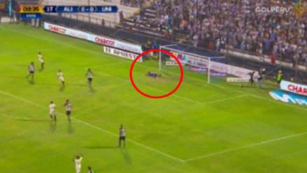 Leao Butrón se lesionó en el Clásico y Juan Vargas casi lo sorprendió con un bombazo