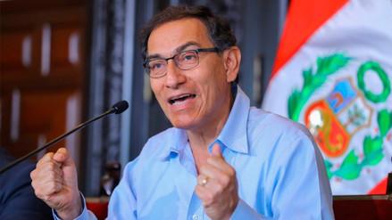 Vizcarra pidió a jóvenes que participen de manera activa en lucha contra la corrupción