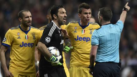 Este fue el insulto que le costó la roja a Gianluigi Buffon en Champions League