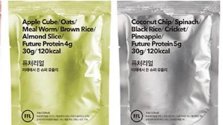 Corea del Sur: lanzan al mercado una línea de cereales a base de insectos