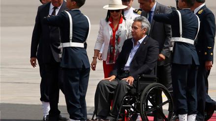 Lenín Moreno retorna a Ecuador por