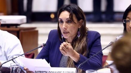 Patricia Donayre solicitó kit de recolección de firmas para eliminar inmunidad parlamentaria
