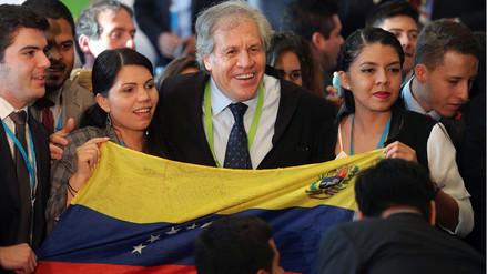 Secretario de la OEA a jóvenes venezolanos en Lima: