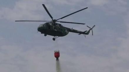 FAP explicó por qué no se utilizaron helicópteros para sofocar el incendio en San Martín de Porres