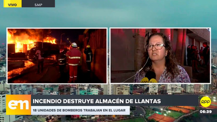 Terreno del depósito incendiado en SMP había sido invadido por 15 años, afirma funcionaria