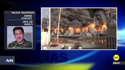 Indeci: Hasta 700 personas resultaron afectadas por el humo del incendio en San Martín de Porres