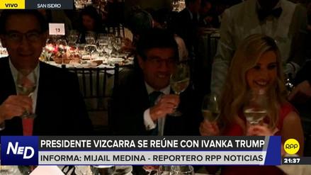 El presidente Vizcarra participó de una cena con Ivanka Trump en la Huaca Pucllana