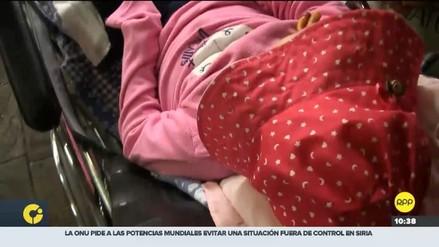 Madre denuncia el robo de medicamentos de niña con parálisis cerebral