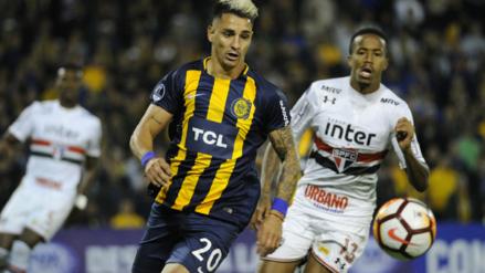 Sao Paulo no utilizó a Christian Cueva y empató con Rosario Central en la Sudamericana