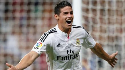 James Rodríguez volverá al Bernabéu para afrontar las semifinales de Champions