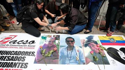 Disidentes de las FARC: los responsables de la muerte de los periodistas ecuatorianos