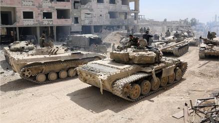 """EE.UU. asegura que """"hay prueba"""" del ataque químico en Siria y cree necesario responder"""