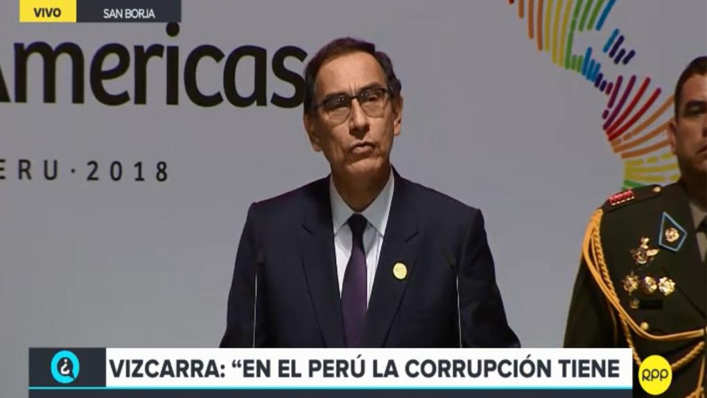 Martín Vizcarra inauguró la VIII Cumbre de las Américas
