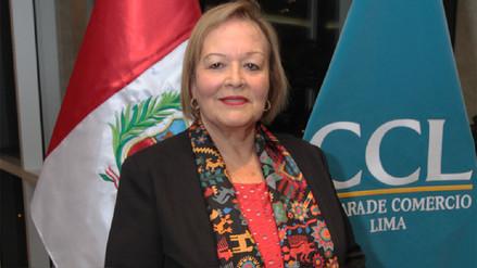 Yolanda Torriani fue elegida presidenta de la Cámara de Comercio de Lima
