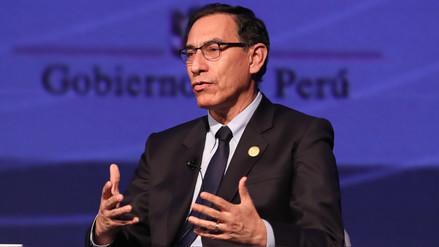 Martín Vizcarra en la Cumbre: