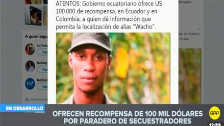 Ecuador ofrece 100 mil dólares por 'Guacho' y reinicia acciones militares en frontera