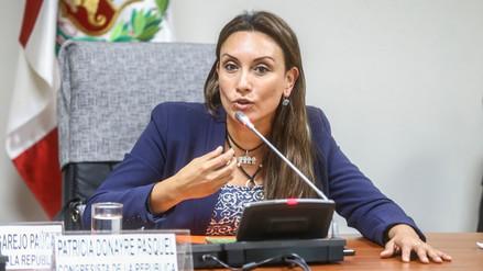 Donayre: Hay una solicitud del pueblo para que se elimine la inmunidad parlamentaria