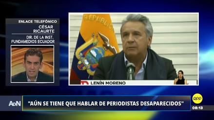 ONG ecuatoriana se mostró en contra de iniciar acciones militares contra los secuestradores