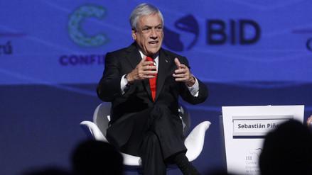 Piñera defiende el libre comercio y propone unir la Alianza de Pacífico con el Mercosur