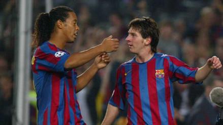Ronaldinho confesó cómo molestaba a Messi en el Barcelona