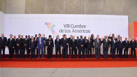Los acuerdos que firmaron los países participantes de la Cumbre de las Américas