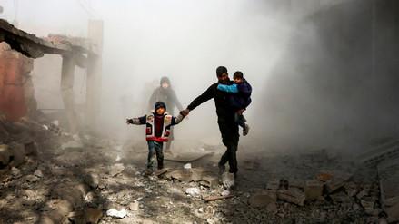 Infografía | Siete años del devastador conflicto en Siria