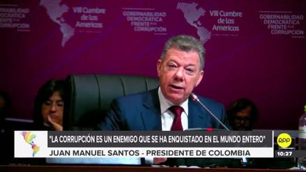 """Juan Manuel Santos: """"Seremos implacables con el régimen opresor de Venezuela"""""""