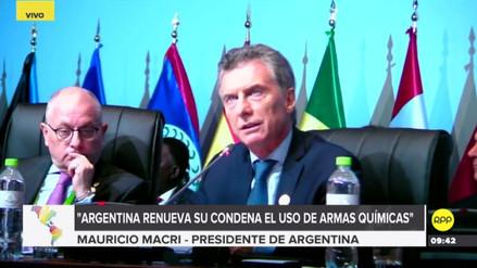 Macri: Argentina va a desconocer la próxima elección en Venezuela